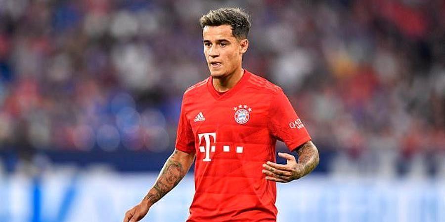Bayern Munich midfielder Philippe Coutinho