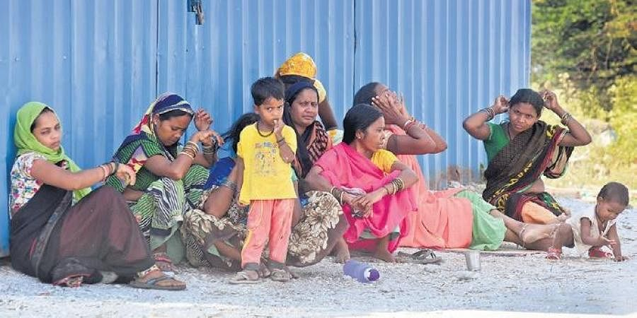 Migrants across India have been hit hard by the lockdown