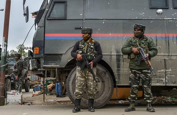 Encounter breaks out between security forces, militants in Jammu and Kashmir's Kulgam
