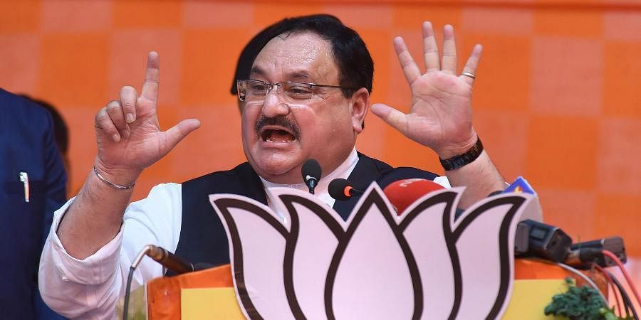 BJP president JP Nadda