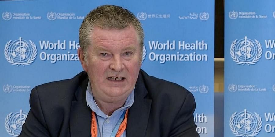 WHO Health Emergencies Programme Director Dr Michael Ryan