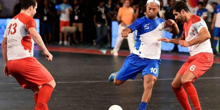 In 2016, India saw Premier Futsal, a private franchise-based competition, which featured former stars like Ronaldinho and Paul Scholes.