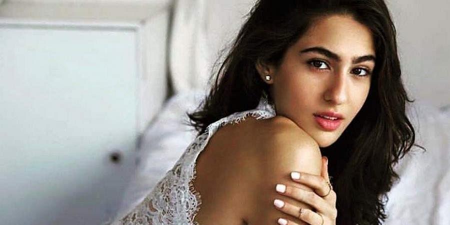 Bollywood actress Sara Ali Khan