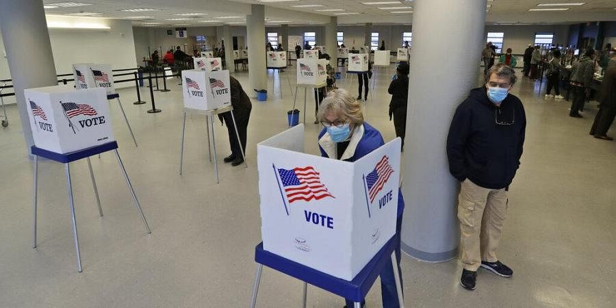The first major test of an almost completely vote-by-mail election during a pandemic is unfolding Tuesday in Ohio