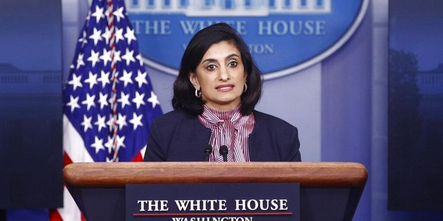 Administrator of the Centers for Medicare and Medicaid Services Seema Verma speaks during a coronavirus task force briefing at the White House in Washington. (Photo | AP)