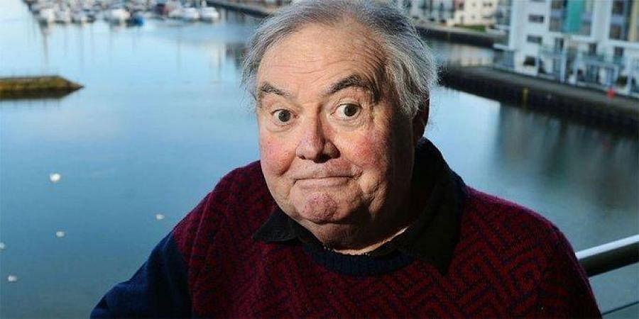 British comedian Eddie Large