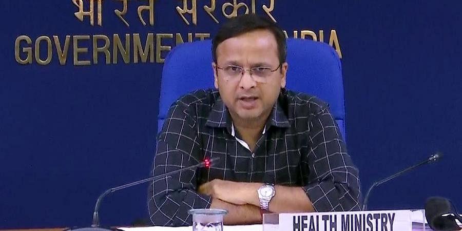 Joint Secretary (Health Department) Lav Agarwal. (Photo  ANI)