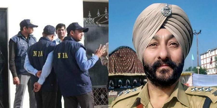 An NIA source related to the probe said that Tariq Ahmed Mir was in touch with Davinder Singh, who is being probed by the anti-terror probe agency.
