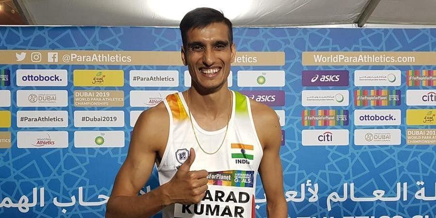 Indian high jumper Sharad Kumar