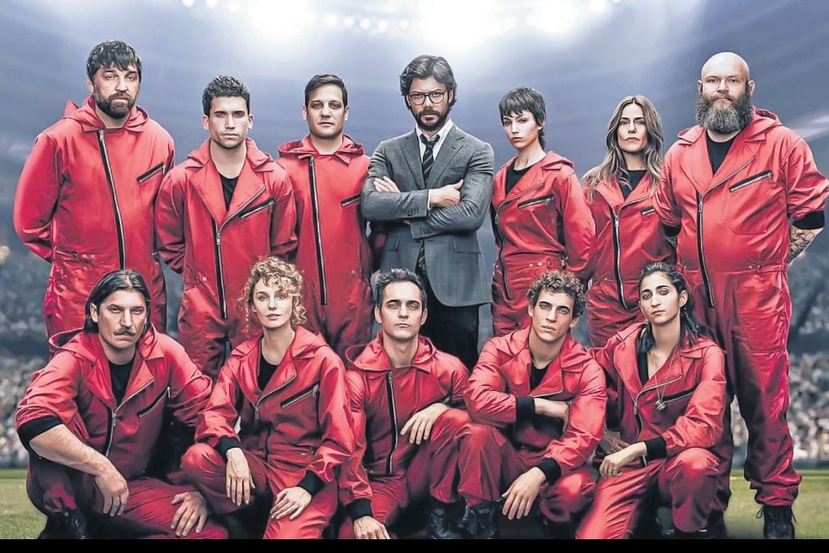 4 Seasons Group money heist' season 4 review: a lukewarm attempt to live up