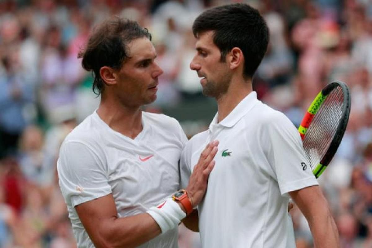 Rafael Nadal Thanks Novak Djokovic For Contributing To His COVID Charity The New Indian Express
