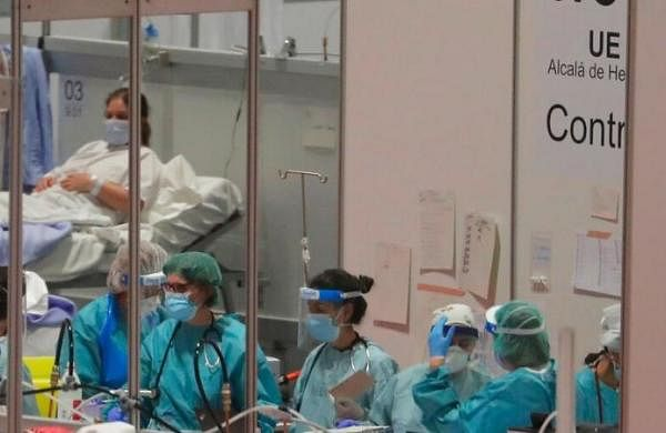 Coronavirus deaths drop for second successive day  in Spain, toll crosses 11,000