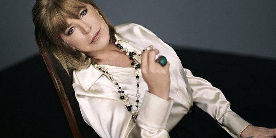 Singer-actor Marianne Faithfull