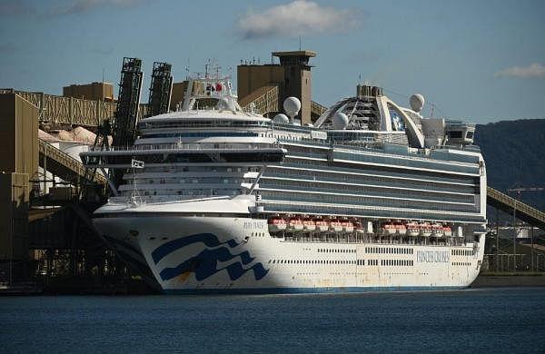 Coronavirus-stricken cruise ship Ruby Princess docks near Sydney after weeks at sea