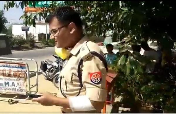 Police team attacked by coronavirus lockdown violators in Uttar Pradesh's Bareilly