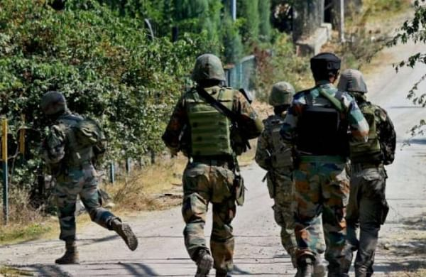 3 soldiers,5 militants killed in J&K gunfight