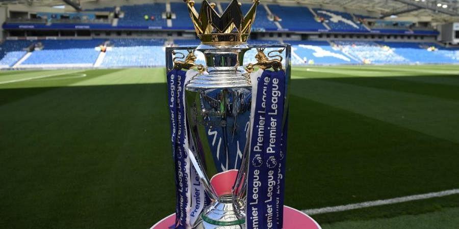EPL, English Premier League trophy