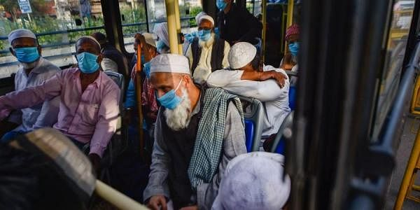 The Tablighi Jamaat members had attended a religious congregation at Nizamuddin in Delhi against the social distancing protocol amid the coronavirus outbreak. (Photo | PTI)