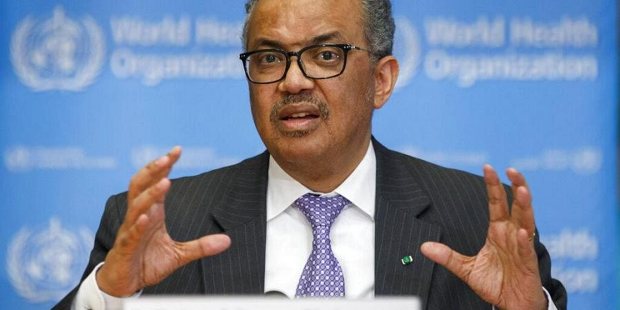 World Health Organization chief Tedros Adhanom Ghebreyesus