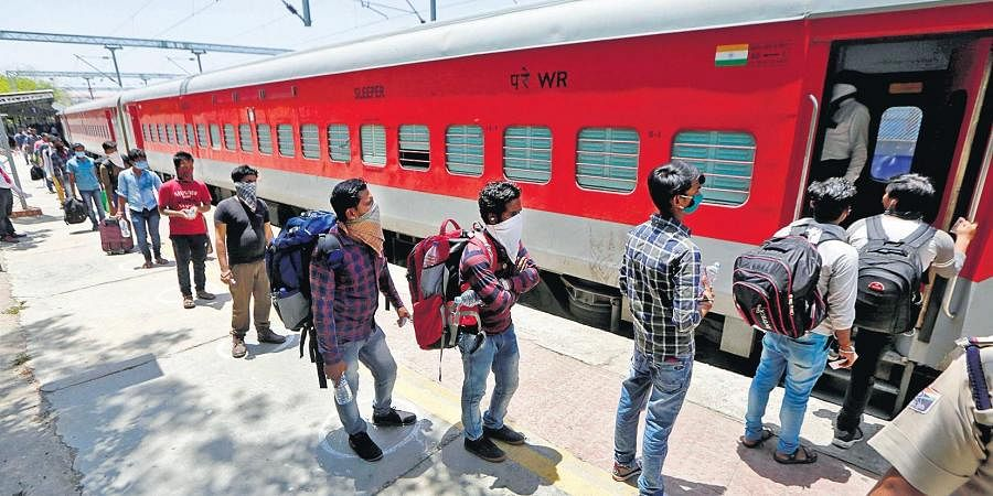 States worried over migrants returning in special trains with ...