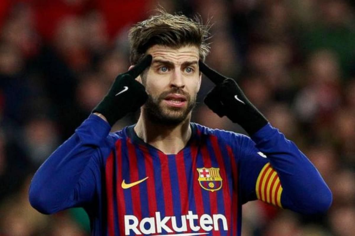 Barcelona centre-back Gerard Pique 'pessimistic' over Davis Cup finals- The  New Indian Express
