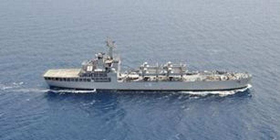 INS Kesari Departs for Mission Sagar.