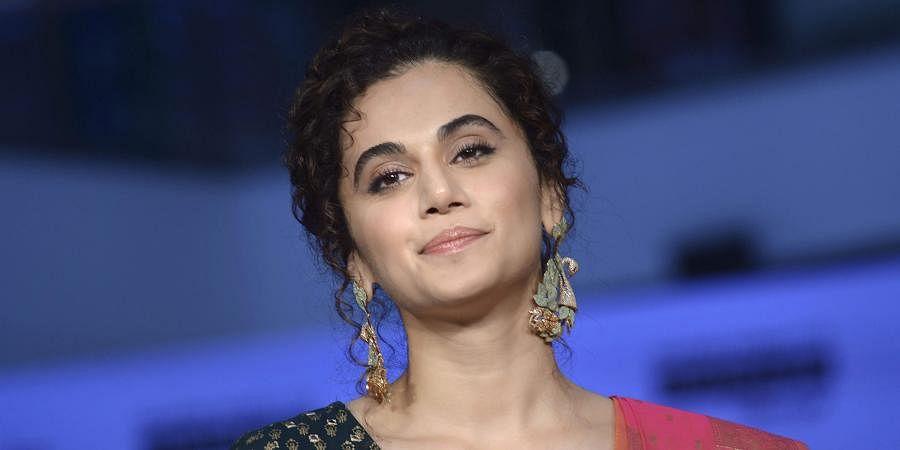 Actress Taapsee Pannu. (Photo | PTI)
