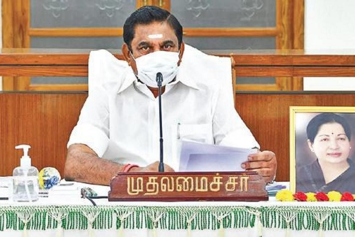 Ongoing COVID-19 lockdown could be lifted 'gradually': Tamil Nadu CM  Edappadi Palaniswami- The New Indian Express