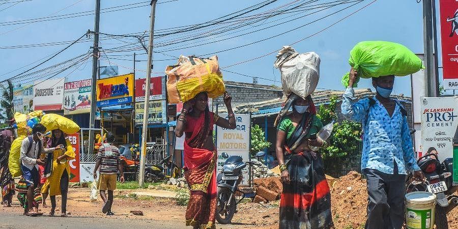 Chhatisgarh migrants