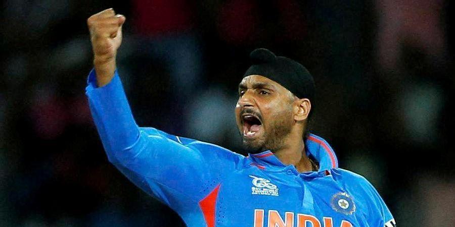Indian cricketer Harbhajan Singh