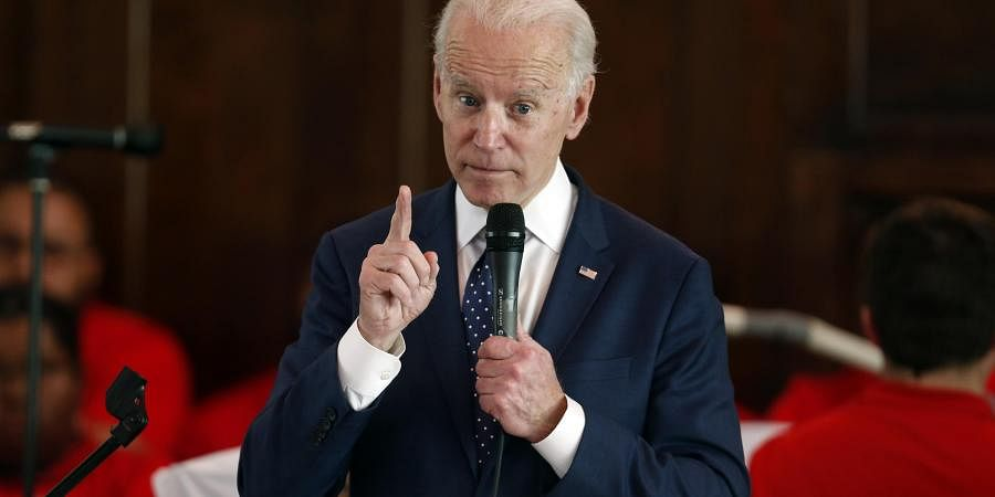 Former Vice President Joe Biden. (Photo  AP)