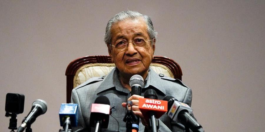 Former Malaysian PM Mahathir Mohamad