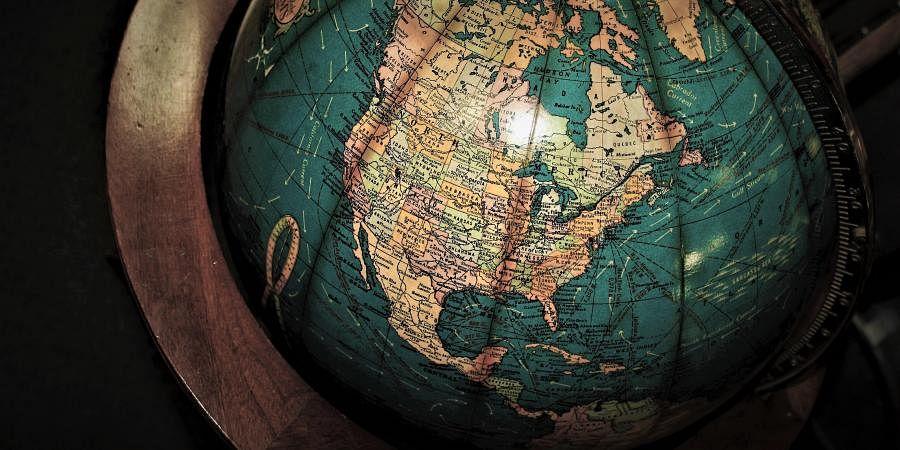 cartography, globe
