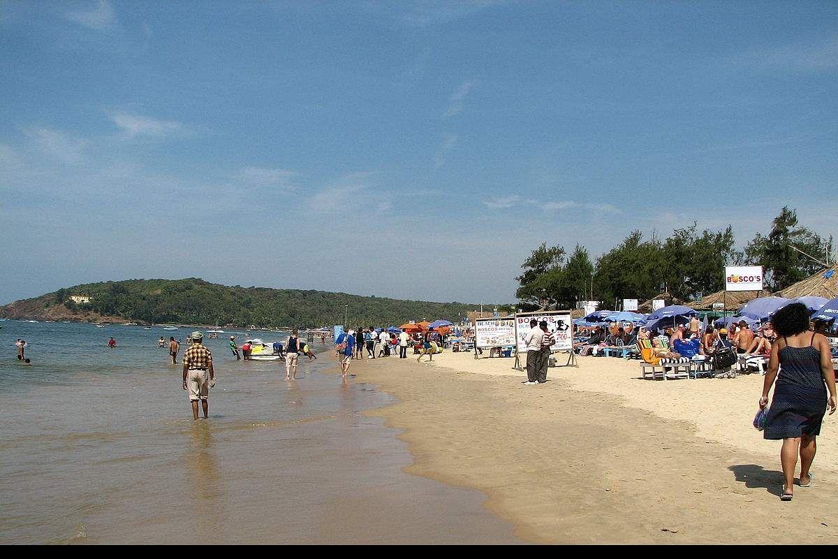 Goa Beach Amid Covid 19