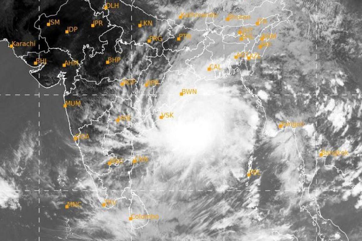 Amphan' moves closer to Odisha coast, rain lashes several- The New Indian Express