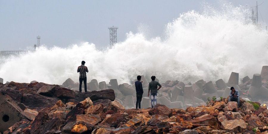 High tides, cyclone