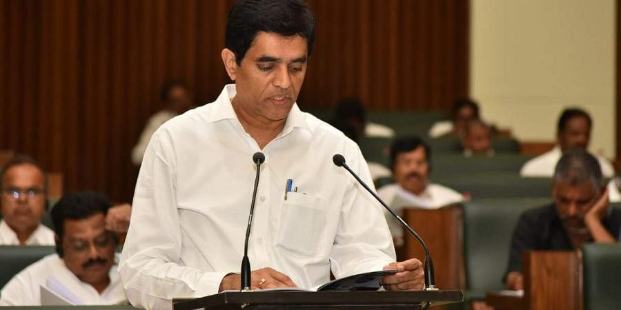 Andhra Pradesh Finance minister Buggana Rajendranath Reddy