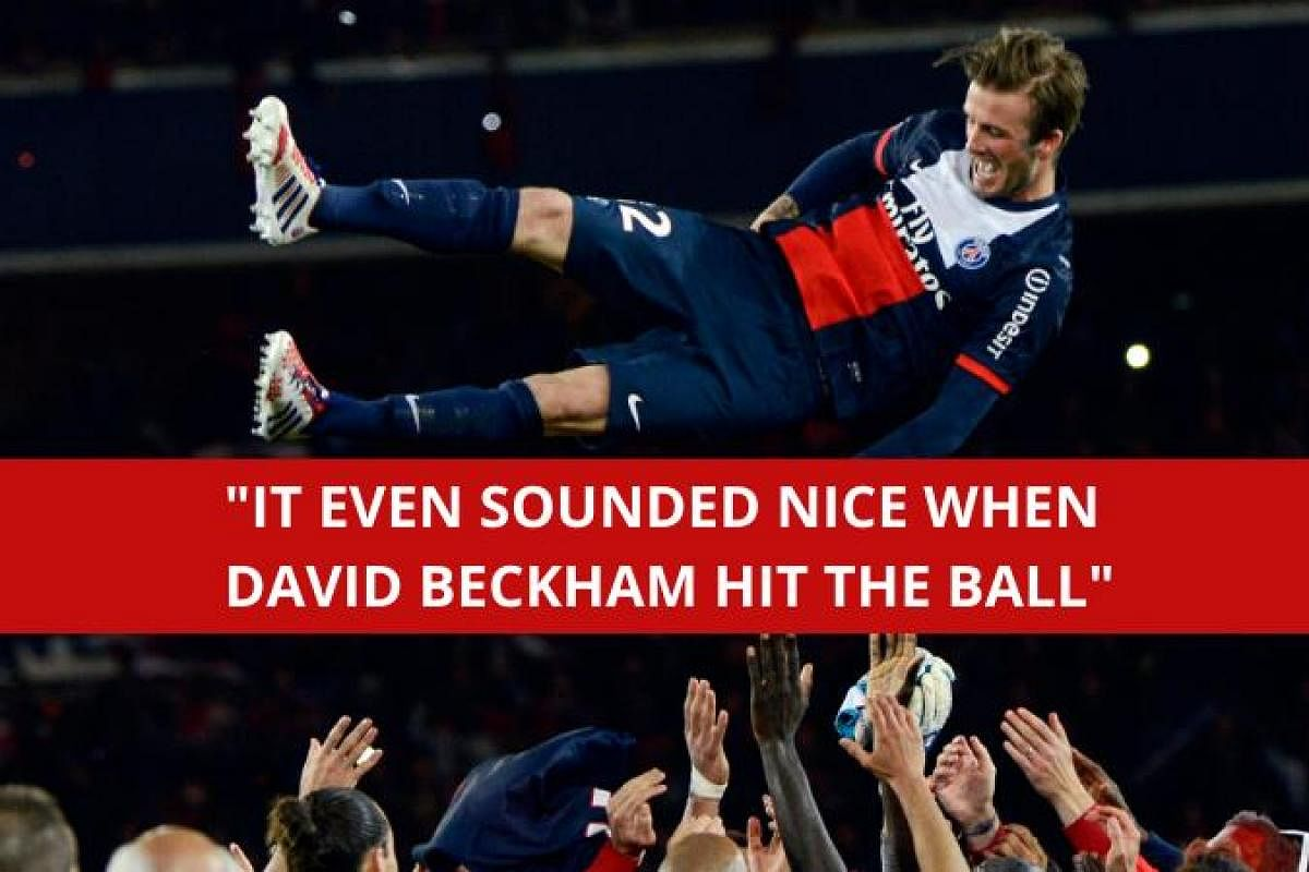 David Beckham Turns 44 10 Quotes That Explain What Football Genius The Manchester United Great Was The New Indian Express