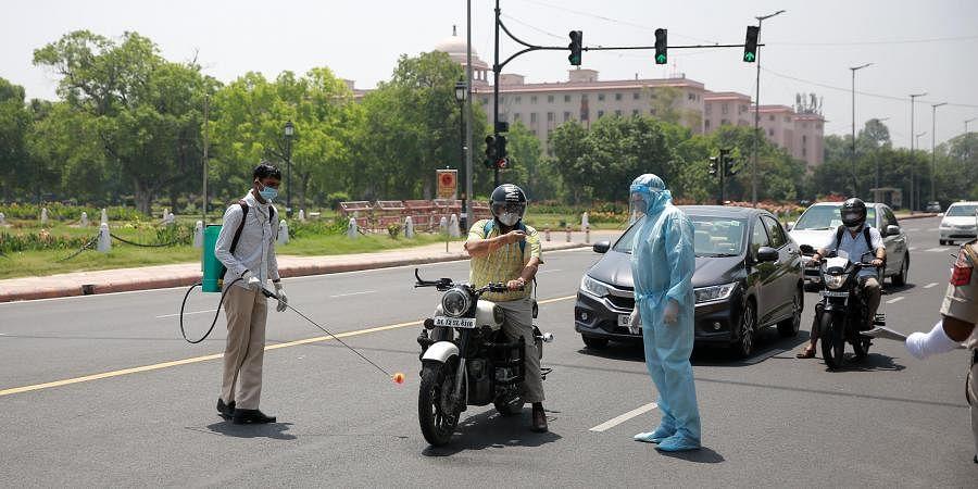 Coronavirus, Delhi, Police