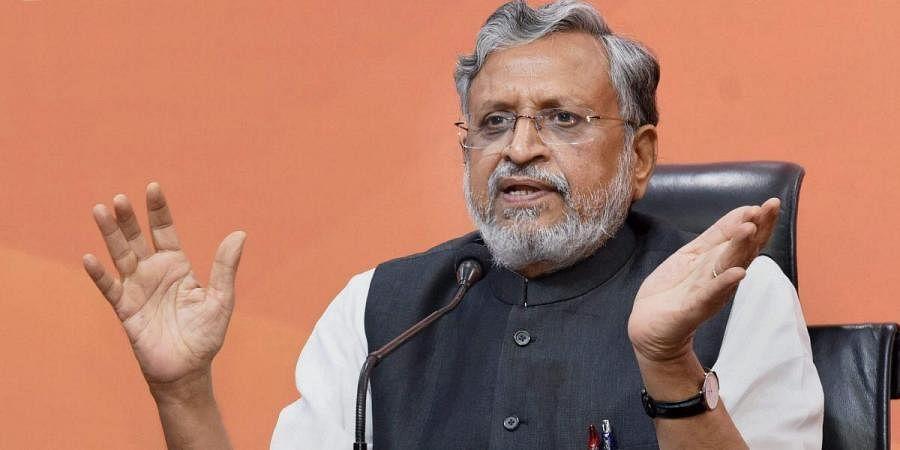 Bihar dy CM Sushil Kumar Modi