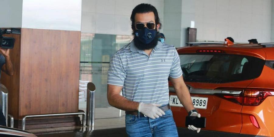 Malayalam actor Prithviraj Sukumaran leaves Kochi airport after arriving from Jordan