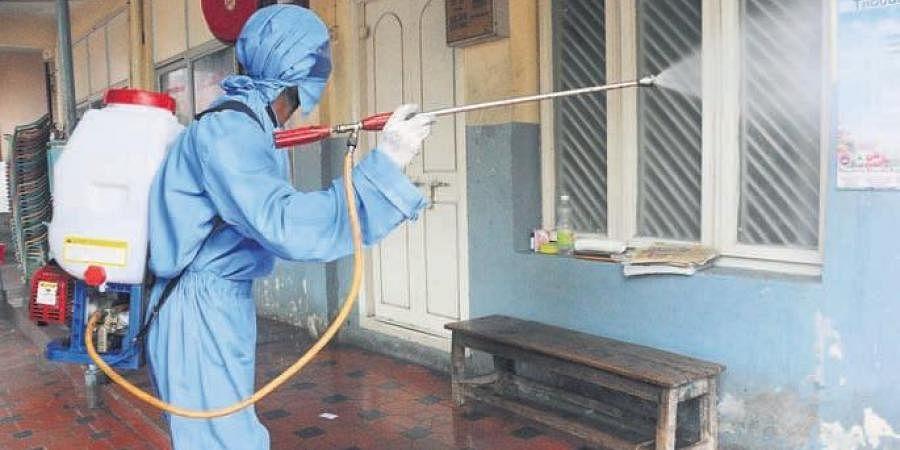 Containment zones, Coronavirus, Sanitization