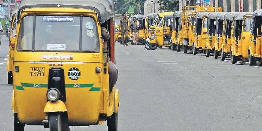 The lockdown has hit Chennai's auto drivers hard | P JAWAHAR