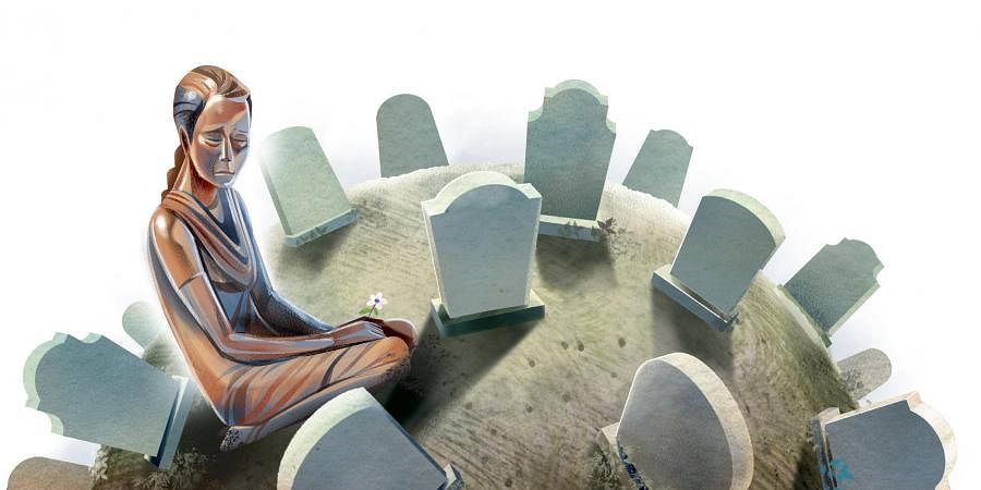 Funeral, Graves, Graveyard, Death, Loved one