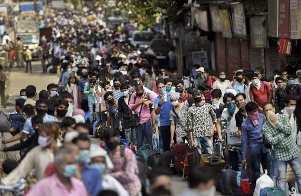 Lockdown 4.0: Migrants heading back home from Pune hopeful of returning to work