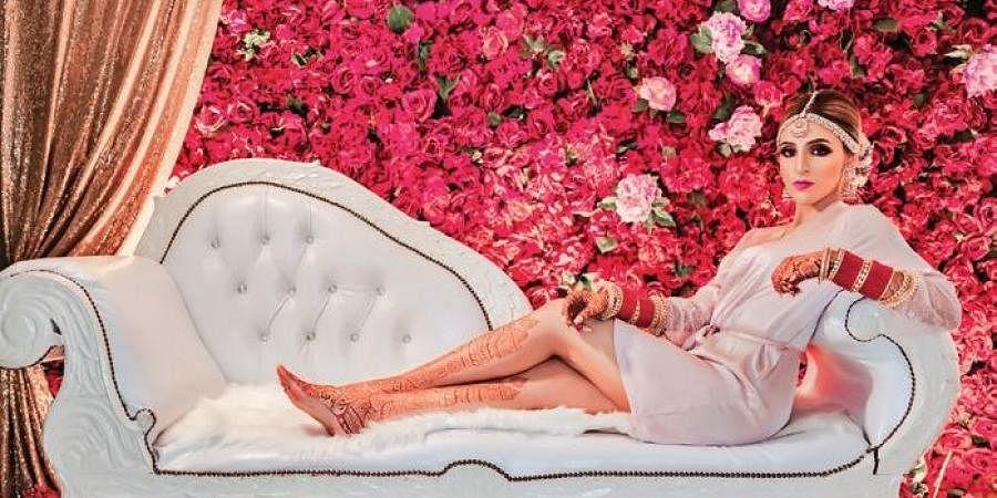 Wedding photographer Sunny Dhiman (inset) picks two of his best captures of bride Kiren Dhillion