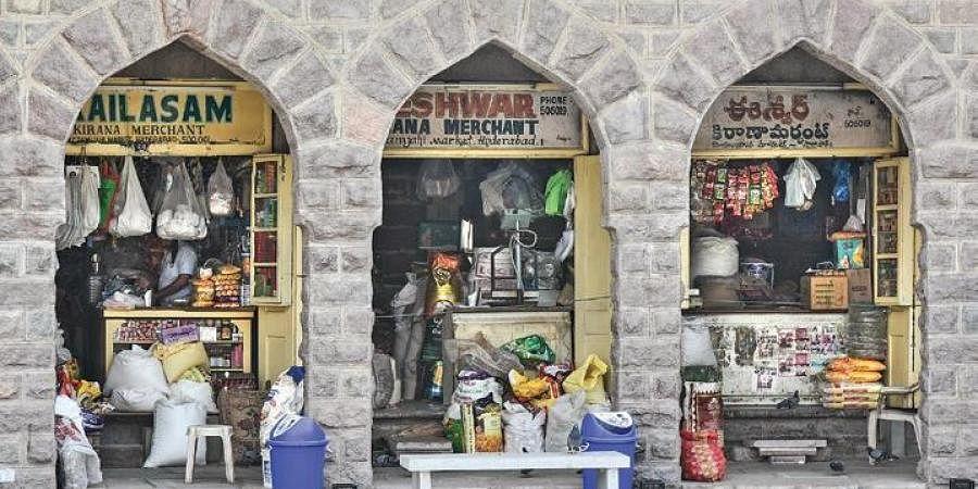 Shops open after restoration of Moazzam Jahi Market in Hyderabad | Vinay Madapu