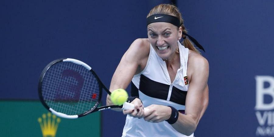 Two-time Wimbledon champ Petra Kvitova