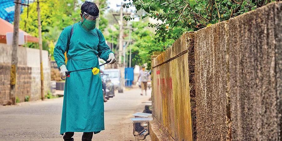 sanitation worker, coronavirus