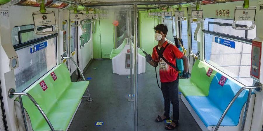 Mumbai monorail, coronavirus cases in India